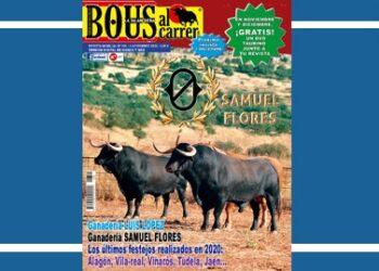 Bous al carrer, portada noviembre, Samuel Flores