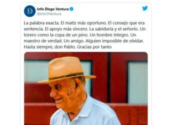 Diego Ventura, twitter, Pablo Lozano