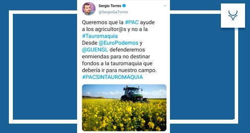 Sergio Torres, Twitter, Gobierno, animalismo