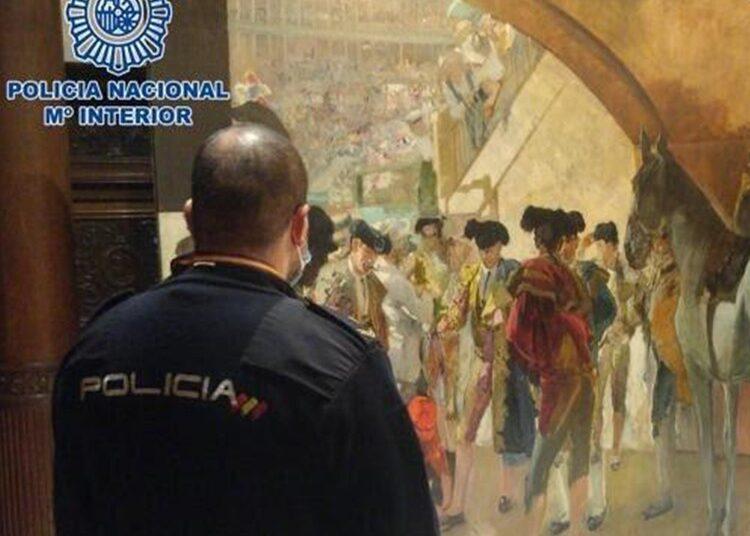 No somos cultura: La policía recupera 'Antes de la Corrida', valorado en 3 millones