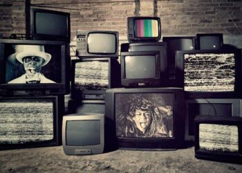 Televisiones antiguas, tele