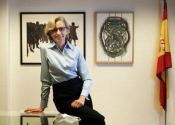 María Dolores Jiménez-Blanco nueva directora general de Bellas Artes. Fotografia: ABC