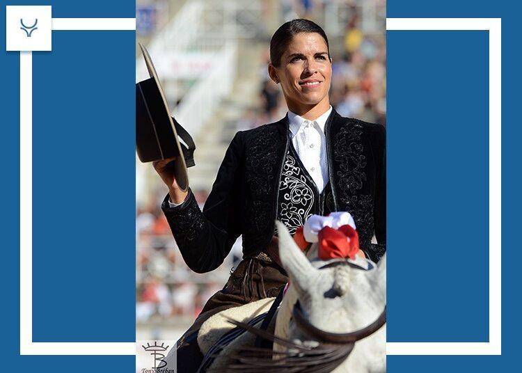 Léa Vicens intervenida de urgencias tras ser herida por un caballo