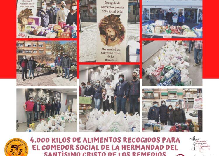 San Sebastián de los Reyes, Asociación de Aficionados Prácticos, recogida alimentos, Comedor Social