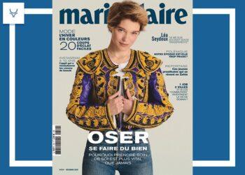 La revista Marie Claire en versión francesa, vuelve a apostar por los toros