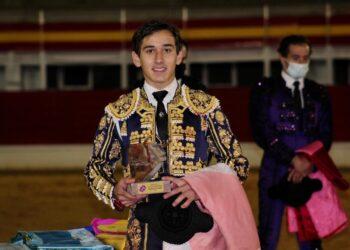 Ismael Martín, triunfador del Circuito de Novilladas de Castilla y León