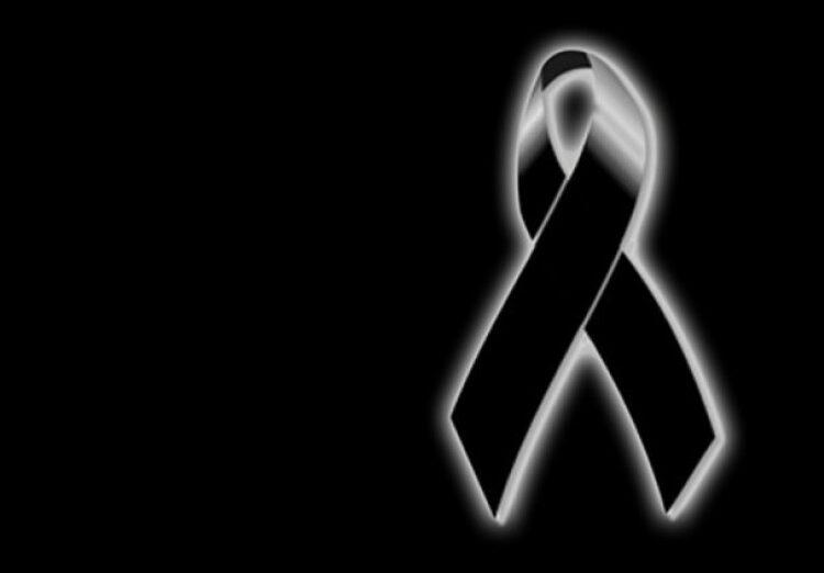 lazo negro, luto, obituario