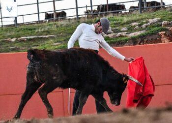 Gran tentadero en Fuenterroble con Emilio de Justo y 'El Rafi'