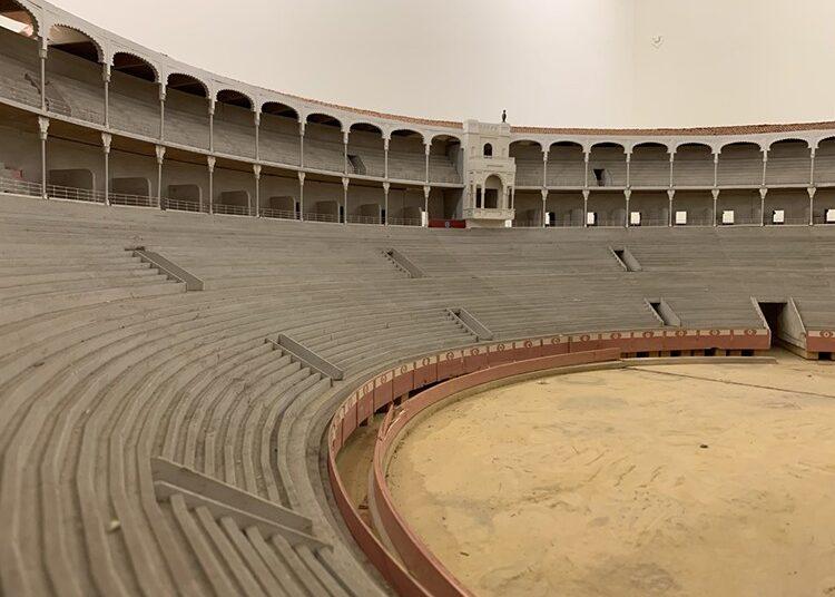 La Comunidad de Madrid restaurará una maqueta de la plaza de toros de Las Ventas