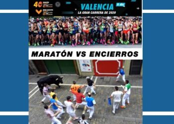 Valencia, maratón, San Fermín, Pamplona