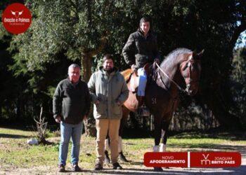 Ovação e Palmas dirigirá la carrera del joven Joaquim Brito Paes