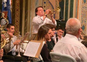 Vicente Ruiz 'El Soro', trompetista, La Maestranza, Sevilla