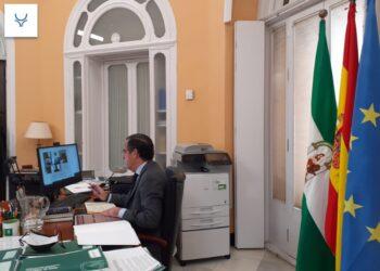 La AAET 'Pedro Romero' mantiene un 'Encuentro Telemático' con la Junta de Andalucía