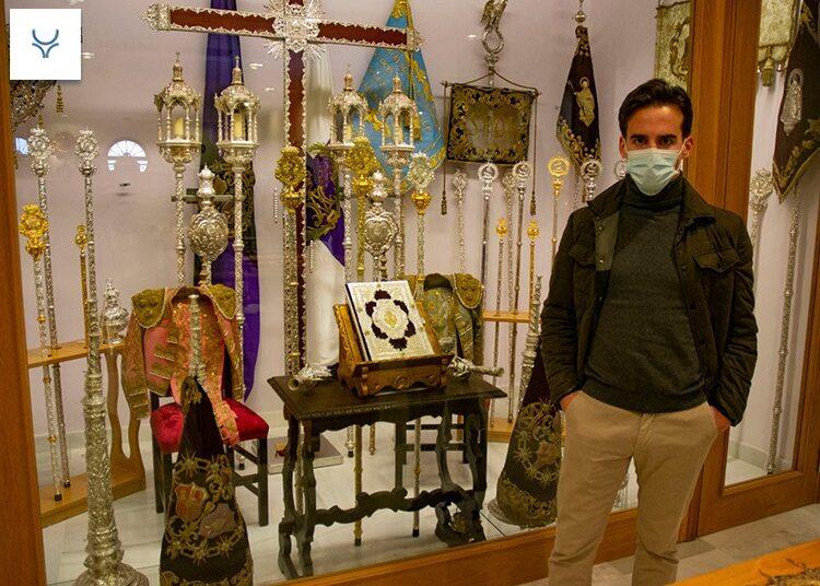 Gonzalo Caballero visitó la Hermandad 'Torera' de San Bernardo