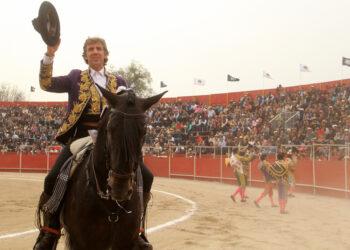 Pablo Hermoso de Mendoza trenzó en ocasiones el paseillo en Val'Quirico