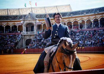 Diego Ventura, Sevilla, La Maestranza, Feria de Abril, rejones