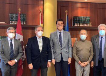 La Unión de Criadores se reúne con el consejero de la presidencia de la Junta de Castilla y León