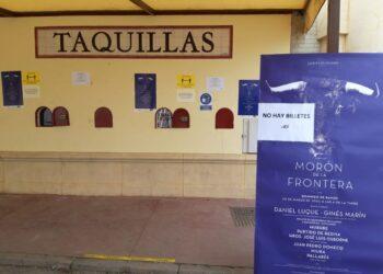 Morón de la Frontera cuelga el cartel de 'No hay billetes' para la corrida del Domingo de Ramos