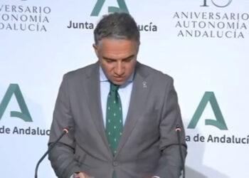 Elías Bendodo: 'Desde el Gobierno de Andalucía invitamos a los empresarios de Sevilla y de la comunidad a celebrar toros, pero cumpliendo las medidas de aforo'