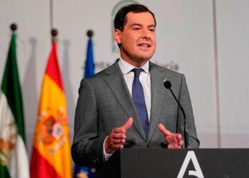 Juanma Moreno, Junta de Andalucía, Andalucía