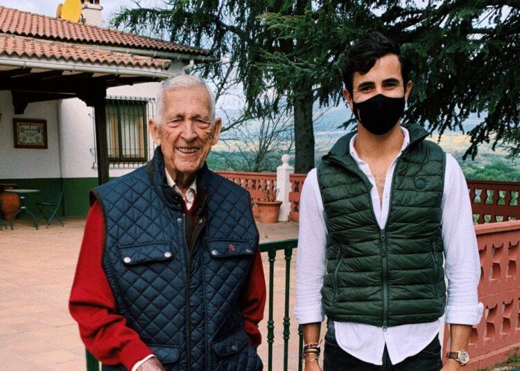 Carlos Olsina y Paco Camino, una jornada de campo inolvidable