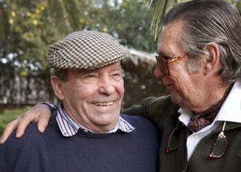 Pepe Teruel con su hermano Angel l EL MUNDO