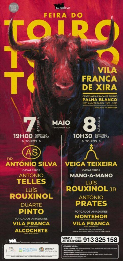Vila Franca de Xira, Portugal, cartel, Feria del Toro