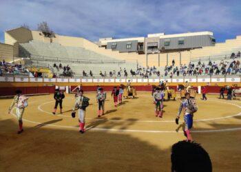Bolaños de Calatrava, Ciudad Real, plazas de toros, paseíllos