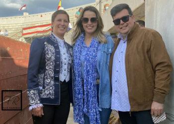 Ana Rita, con Noelia Mota y Mario Hidalgo I Francisco Ramírez