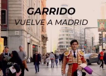 José Garrido, de luces por Madrid