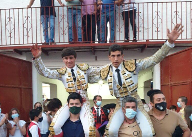 El Melli y Marcos Linares, doble Puerta Grande en Santisteban del Puerto