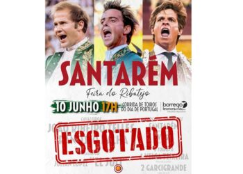 El Juli cuelga el cartel de 'No hay billetes' en Santarém