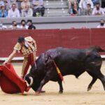 Buena faena de Urdiales, llena de torería, oreja con petición de la segunda en el primero (Directo: Burgos)
