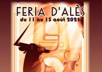 Feria de Alés, Francia, cartel anunciador