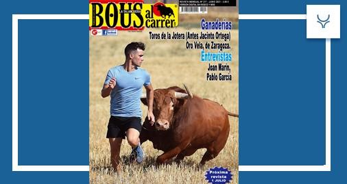 Bous al Carrer, portada junio