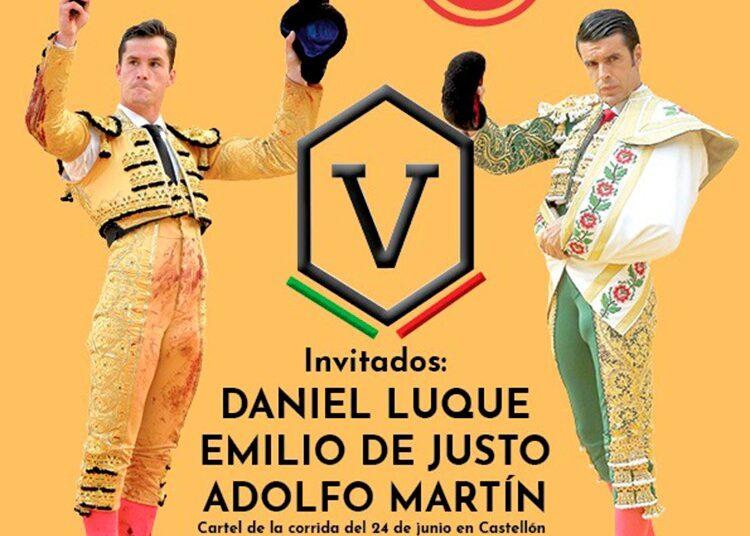 Castellón, Emilio de Justo, Daniel Luque, Adolfo Martín