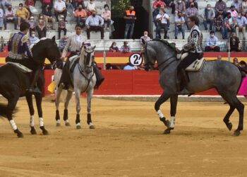 Granada, Feria del Corpus, Pablo Hermoso de Mendoza, Lea Vicens, Guillermo Hermoso de Mendoza, Fermín Bohórquez