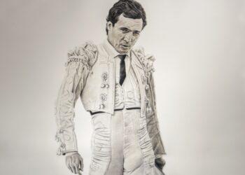 Chimo Pérez, autor del cartel homenaje a Manzanares