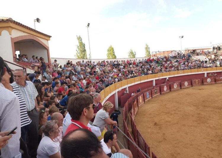Macotera, Salamanca, plazas de toros, interior