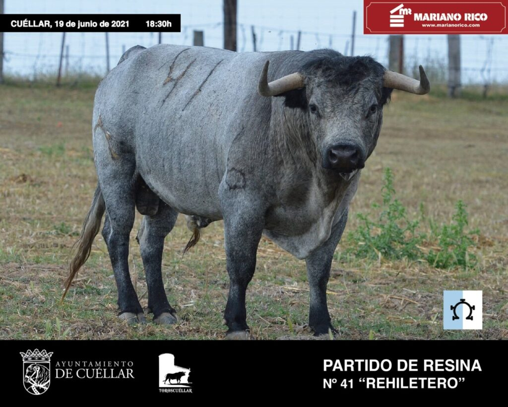 Carlos Fraile, Cuéllar, Partido de Resina, Miura