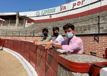 Antonio Grande, Manuel Diosleguarde, Sergio Rodríguez, Castilla-León, Liga Nacional de Novilladas, Fundació Toro de Lidia, Circuito de Castilla-León