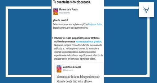 Twitter, Morante de la Puebla, redes sociales