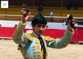 El novillero Jesús Sosa, triunfador en 'La Florecita'