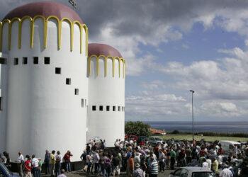 Plaza de toros de Angra do Heroísmo de Isla Terceira (Azores)