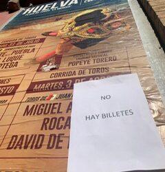 Huelva cuelga el 'No hay billetes' en la última de Colombinas